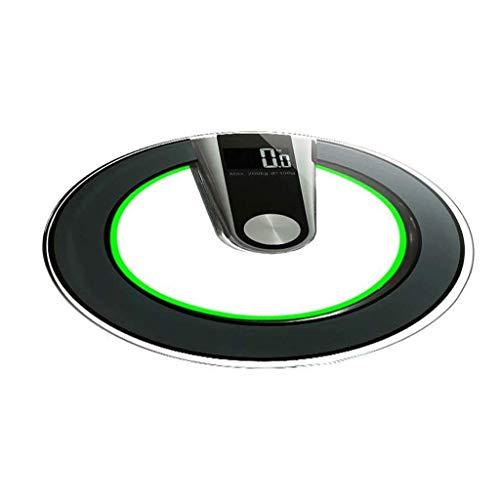 TEHWDE Digitale personenweegschaal, bluetooth, elektronische weegschaal, hoge kwaliteit, voor volwassenen, wegen, Intelligent Precision Tempered Weight Intelligent Digital Fat