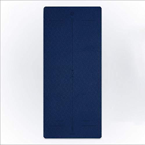 xiaokeai Esterilla Yoga Soporte Plana Gruesa Alfombra de su casa Yoga Mat Principiante Antideslizante Yoga Mat Práctica Esterilla Deporte