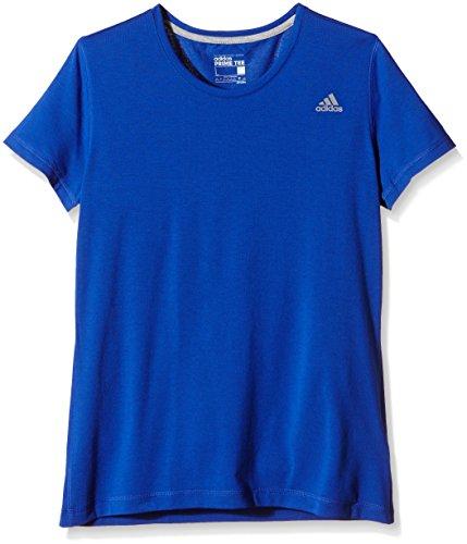 adidas Damen Trainingsshirt Prime Tee Shirt, Blau, XS