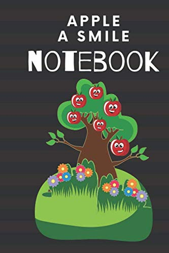 appel a smile notebook: lend notebook college,appel , ruled,cute ,girl ,boy,child,class,teacher,Success in class 6X9in 120 Pages
