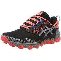 Asics Gel-Fujitrabuco 8, Running Shoe Womens, Flash Coral/Sheet Rock, 39 EU