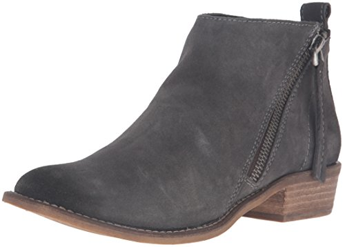 Dolce Vita Women's Sibil Ankle Bootie, Anthracite, 6 M US