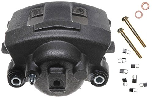 ACDelco Professional 18FR983 Front Passenger Side Disc Brake Caliper Assembly (Friction Ready Non-Coated), Remanufactured