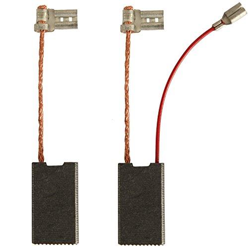 Kohlebürsten Kohlen für Bosch 6,3x12,5x24mm GBH 5-40 DE 5-40DCE GSH 5 E 5CE DCE 1617014144 mit Service Kabel