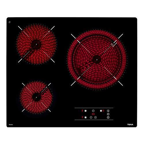 Teka | Placa de Vitrocerámica | Modelo TB6315 | 3 zonas Touch Control | 60CM