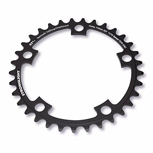 STRONGLIGHT PLATO acero 5-agujero círculo de agujeros 110mm CT2 revestimiento de teflón de cerámica negro todos los tamaños, kettenblatt zähne:34