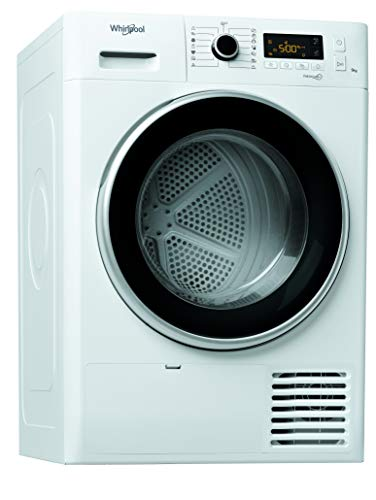 Whirlpool FT M11 9X2 EU, Asciugatrice a Pompa Di Calore con Tecnologia FRESHCARE+, 9 Kg, A++, Bianco