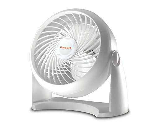 Honeywell HT-904 Tabletop Air-Circulator Fan, White, 11 inch