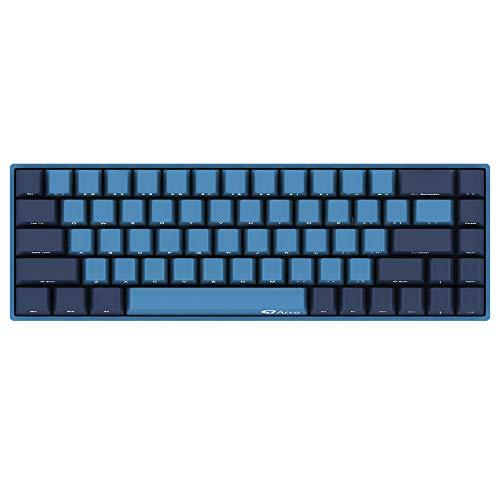 YUNZII AKKO 3068 Ocean Star mechanische Gaming-Tastatur mit Kabel, Cherry MX Switch PBT Keycap (68 Tasten Cherry MX Red)