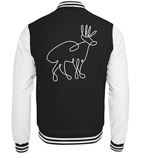 Chorchester hert tekening voor jagers en wilde fans - college sweatjack