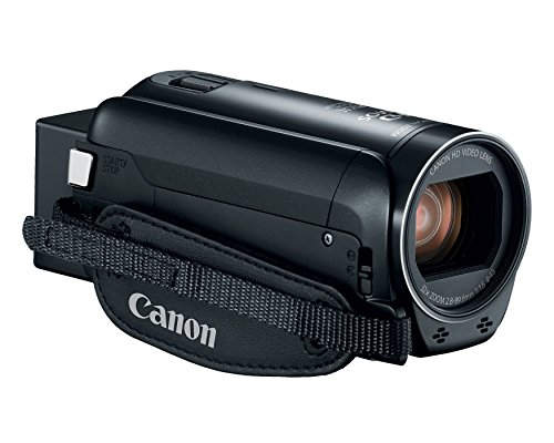 Canon VIXIA HF R800 Full HD Camcorder with 57x Advanced Zoom, 1080P Video and 3' Touchscreen - Black (US Model)