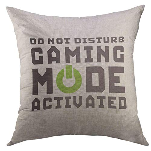 Gaming mode activated pillow case