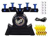 YIYUNKJ Shooting Games Toy, Target Practica Juguetes, Funda eléctrica Target Floating Shooting Juguetes Juguetes con 5 Juguetes Polluelos 10 Bolas for niños Niños Cumpleaños Fiesta Naranja