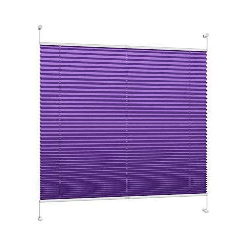 DecoProfi Plissee, Stoff, violett, 100 cm x 220 cm (BxH)