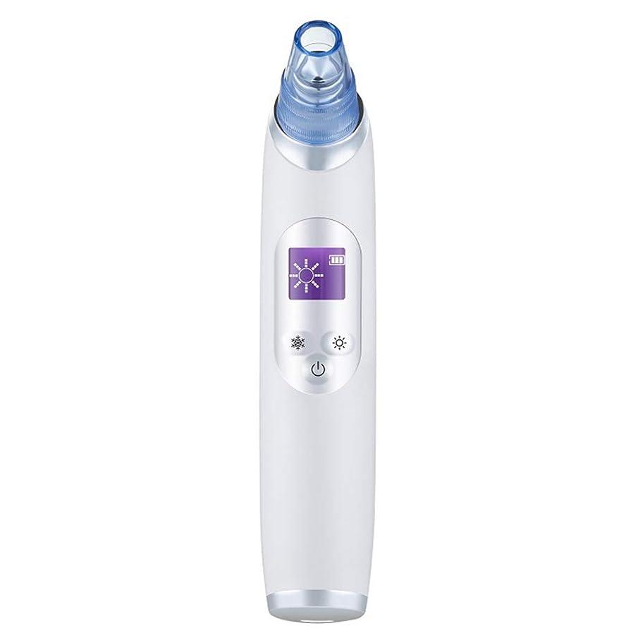 子供達喉が渇いた迷路真空気孔クリーナー、ポータブル電気冷却と加熱技術引き締めと輝く角質にきびにきびギフト用女性 (Color : B)