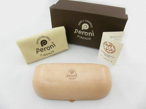 ペローニ Peroni COIN-ケース-COIN-ナチュラル メガネケース 牛革 サングラス ハンドメイド アクセサリー