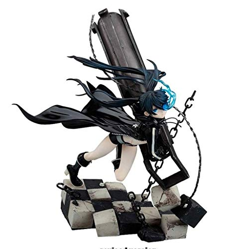 MMZ Black Rock Shooter Figur 1/8 Scale (Fliegende Haltung) Statue-Dekorationen for Anime-Fans Geschenke