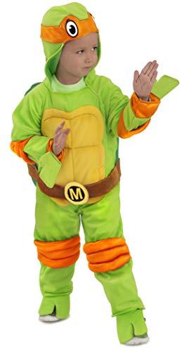 Princess Paradise Baby's Teenage Mutant Ninja Turtles Costume Jumpsuit, Michelangelo, 12-18 Months