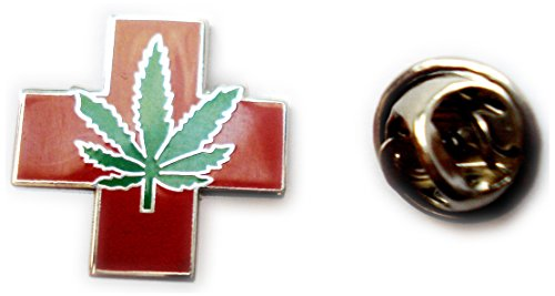Medical Marijuana Pot Hemp Legalize Cannabis Weed Lapel Pin Tie Tack