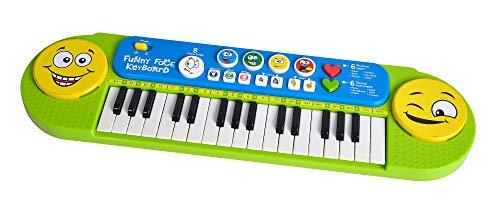 Simba 106834250 - My Music World Funny Keyboard