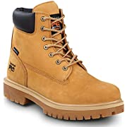 Timberland PRO Direct Attach Men's, Wheat, Soft Toe, Slip Resistant, Waterproof, 6-inch Boot (7.0 M)