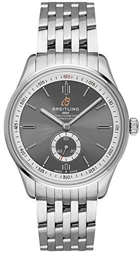 Breitling Premier A37340351B1A1 - Reloj automático para hombre (40 antracita)