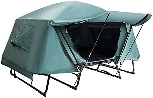 LAZ Tent Warm Off-Ground Outdoor Tent Rainproof Double-Layer Outdoor Tent Camping Picnic Thickening Tent Family Tent (Size : X-Large)
