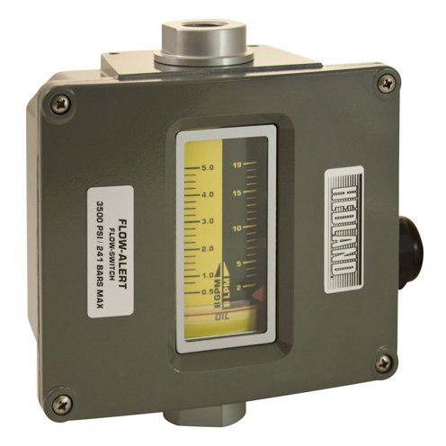 Hedland Flow Meters (Badger Meter Inc) H601A-005-F1 - Flow Rate Hydraulic Flow Meter - 5 gpm Max Flow Rate, SAE-10 1/2 in Port Size