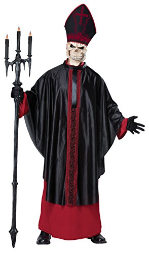 California Costumes Men's Mass, RED/Black, Large/Extra Large