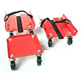 KASTFORCE KF2011 Snowmobile Dolly Set Max Supporting 1500Lbs with Heavy Duty...