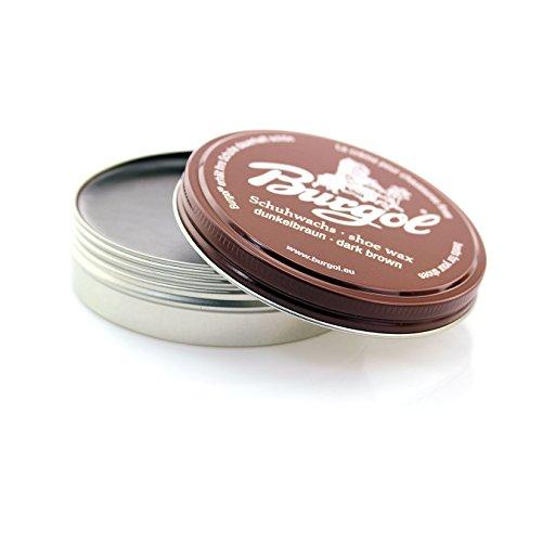 Burgol Palmenwachs Shoe Cream 100 ml, Dunkelbraun