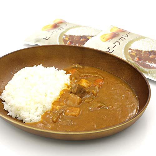 レトルトカレー 北海道 JAふらの やさしい野菜の ビーフカレー 180g×2食セット 北海道産 玉ねぎを飴色になるまで炒めた 野菜たっぷりカレー 保存食