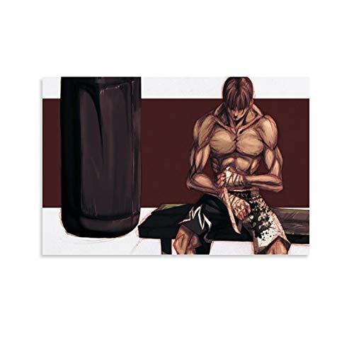 FANSH Baki Boxsack-Poster, dekoratives Gemälde, Leinwand, Wandkunst, Wohnzimmer, Poster, Schlafzimmer, Gemälde, 30 x 45 cm