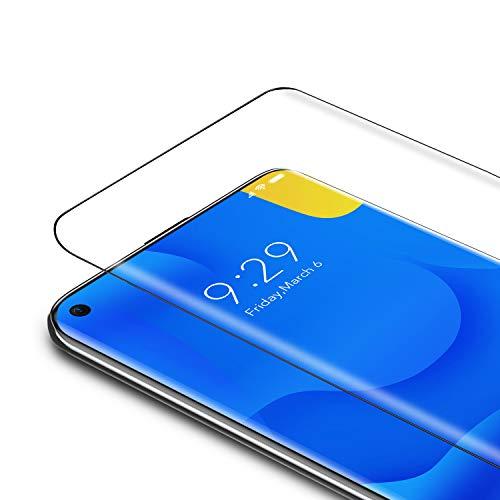 Bewahly Vetro Temperato Xiaomi Mi 10 / Mi 10 PRO [2 Pezzi], 3D Curvo Copertura Completa Pellicola Protettiva in Vetro Temperato per Xiaomi 10/10 PRO [9H Durezza, Anti Graffio, Alta Definizione]
