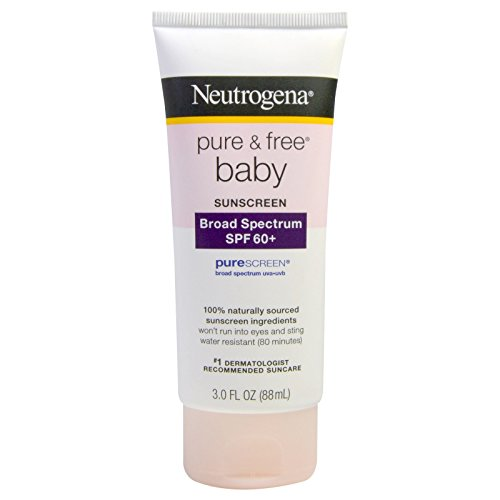 Neutrogena Pure & Free Baby Sunscreen Lotion - SPF 60-3 oz