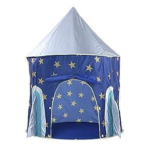 Tavolozza Play Tents Carpa de Juego Plegable portátil para jardín al Aire Libre (Tipo Cielo Estrellado)