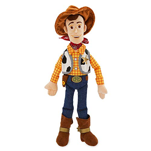 Disney Store Woody Medio Bambola di Peluche 45cm – Toy Story
