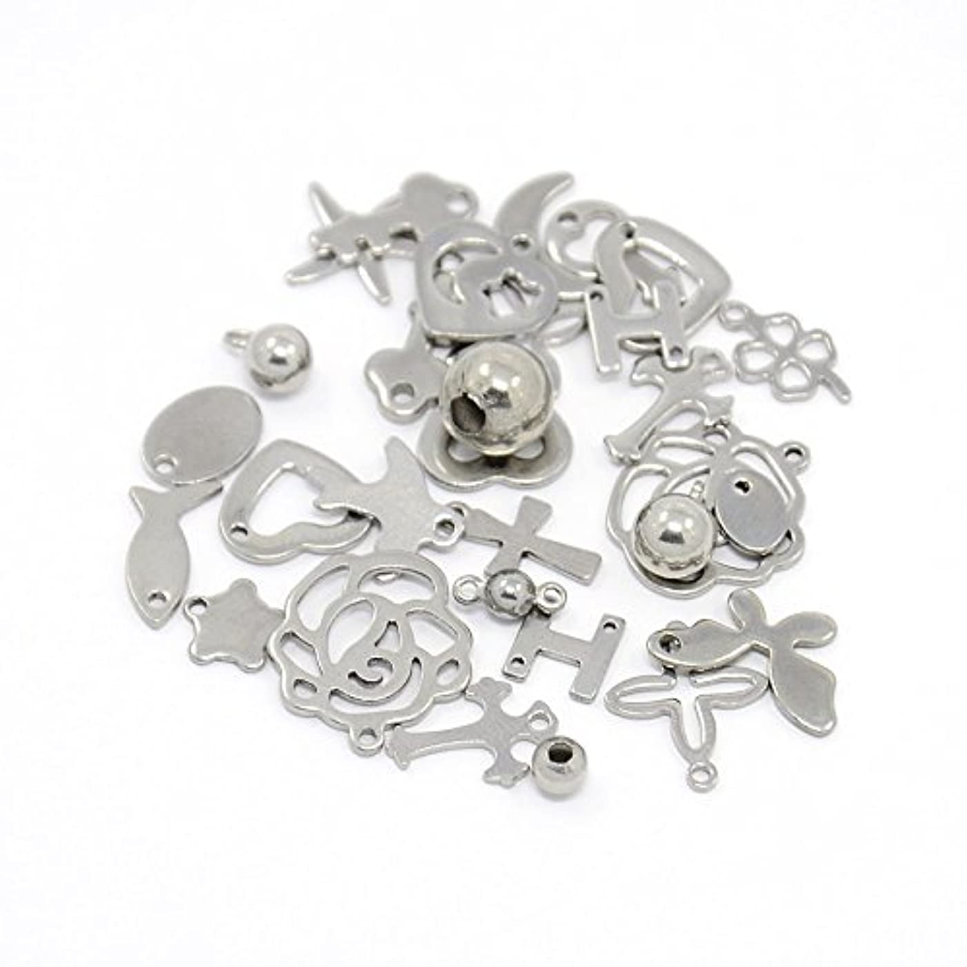PEPPERLONELY Brand 20PC Mixed 304 Stainless Steel