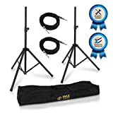 Pyle Universal Stand Kit-Height Adjustable 3.6' -5.6' Tall Sound Equipment Tripod Mount for...