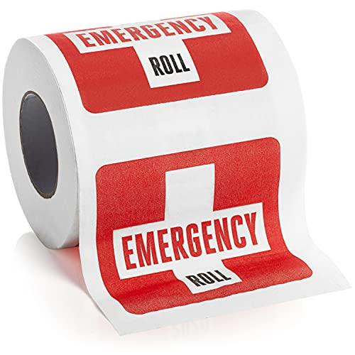 Funny Novelty Toilet Paper - Hilarious Gag Gift or White Elephant Gift Idea