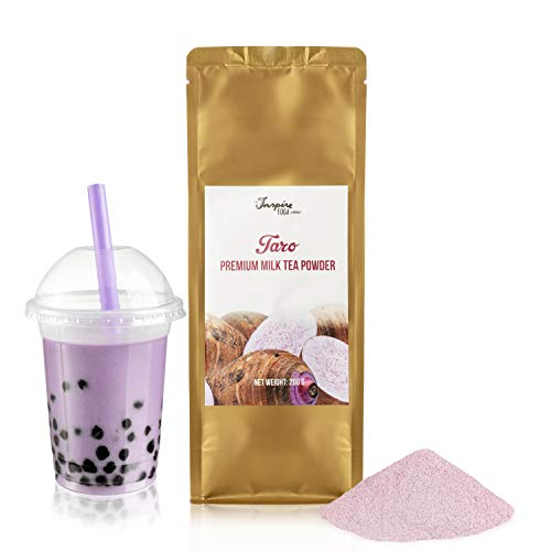 Taro Milchtee Pulver für Bubble Tea - 200g | Taro Milk Tea Powder - Hochwertige Inhaltstoffe - Ohne künstliche Farbstoffe