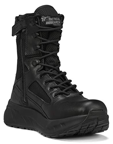 in budget affordable TACTICAL RESEARCH TR Tactical Men's Boots MAXX 8Z Maximalist, Black – 11.5R.