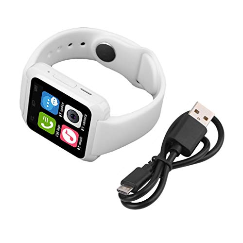 Nieuwste Smart Watch U80 BT-melding Anti-Lost MTK-horloge voor iPhone Samsung Android-systeem Telefoon smartwatch wit