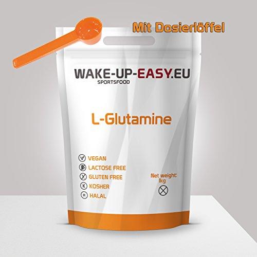 Poudre de L-Glutamine 1Kg, acides aminés...
