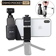 Accessories for DJI OSMO Pocket - ULANZI OP-1 Mobile Phone Tripod Holder Mount Fix Stand Bracket Set with Tripod Cold Shoe Mount for OSMO Pocket Handheld Gimbal