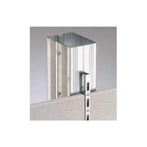 e-kanamono ロイヤル 棚柱 チャンネルサポート(ダブル) AWF-5 1820mm ホワイト