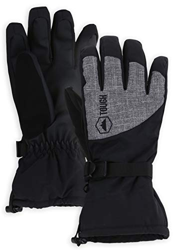 Winter Ski & Snow Gloves for Men & Women - Waterproof & Windproof Snowboard Gloves for Skiing,...