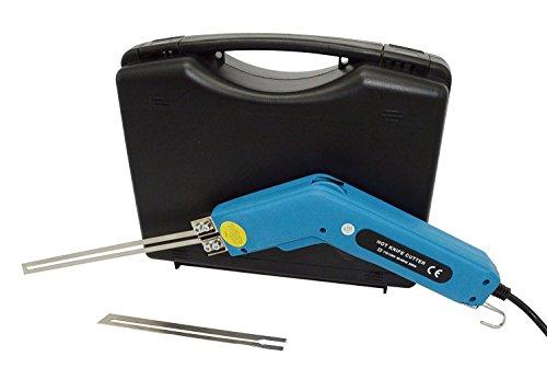 Cuchillo eléctrico caliente cuchillo cortador de espuma espuma Escultura caliente cuchillo cortador de cuchillo caliente con recto cuchillas)