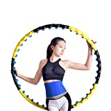 AUGYM Hula Hoops Fitness Massage Sport Hoop Abnehmbare 8 Teile zweireihig Magnetic Fitness Crossfit Hoop