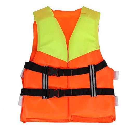ISAKEN Chaleco Salvavidas Profesional para niños, Chaleco Salvavidas Unisex para niños, Chaleco Salvavidas de flotación de Espuma para niños de 4 a 10 años, natación, Kayak